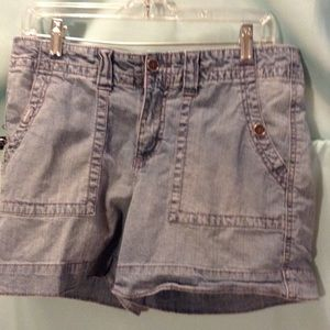 FADED GLORY DENIM SHORTS SZ-10